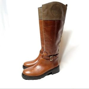 NWOT Tory Burch Leather Riding Boots 8.5